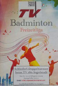 Badminton Schleiferlturnier 2018